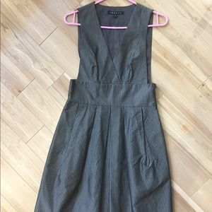 Metallic grey THEORY dress